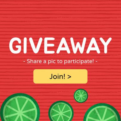 Giveaway Online Banner Maker 282b