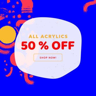 Ad Maker for Art Supplies Shop 540b