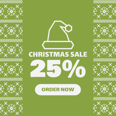 ad maker for a christmas sale