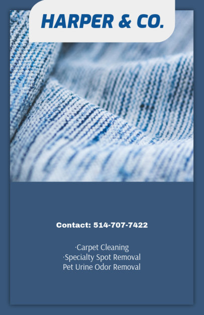 Flyer Maker for Professional Carpet Cleaning 295e