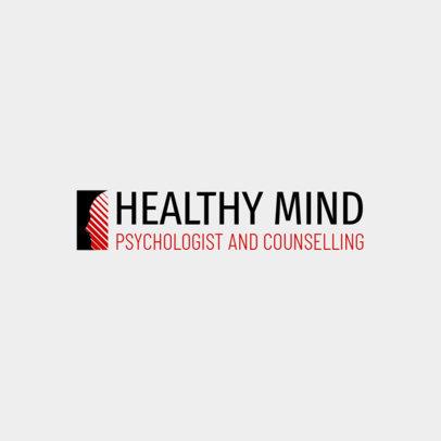 Counseling Logo Maker for a Psychology Center 1526e