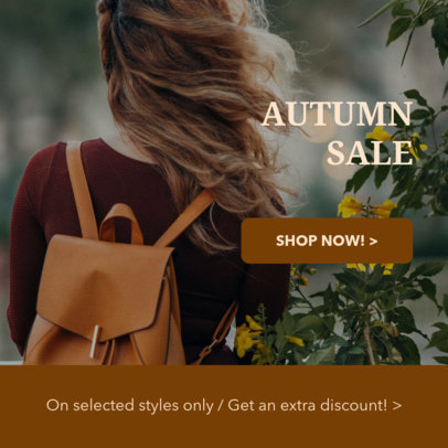 Ad Banner Template for a Season Sale 16643e