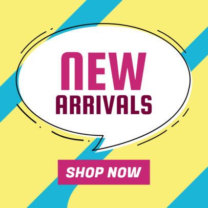 New Arrivals Ad Banner Maker 548b