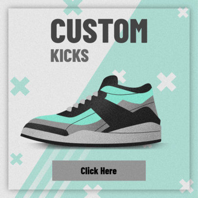 Custom Sneakers Banner Creator 520d