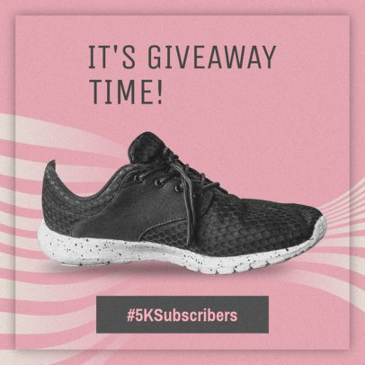 Online Ad Maker for a Sneakers Giveaway 520e