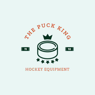 Hockey Logo Creator for a Hockey Equipment Store 1563d