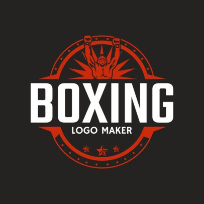 Boxing Logo Maker for a Boxing Gym 1581