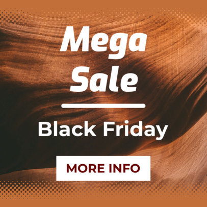 Mega Sale Ad Maker for Black Friday 757 b