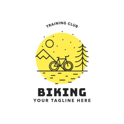 Mountain Bike Logo for Biking Training Club 1574