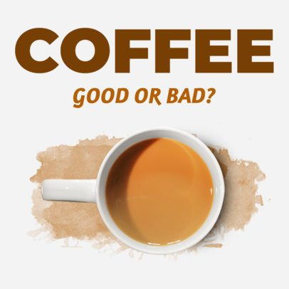 Ad Banner Maker for Coffee Related Post 360d