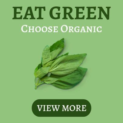 Organic Eating Banner Maker 360e