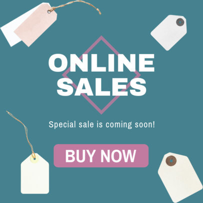 Banner Ad Maker for Online Sales 750e