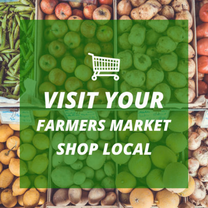 Simple Banner Maker for Farmers Markets 382c