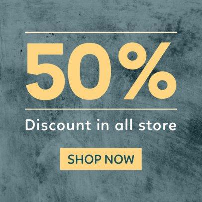 50% Off Sale Online Banner Maker 751d