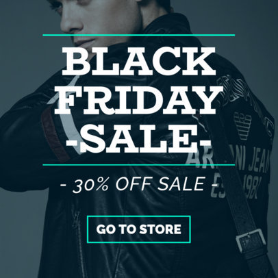 Ad Banner Generator for a 30% Off Black Friday Sale 751e