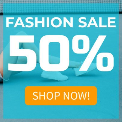 Fashion Sale Ad Banner Maker 248d