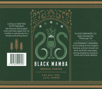 Beer Label Generator for Porter Beers 768d