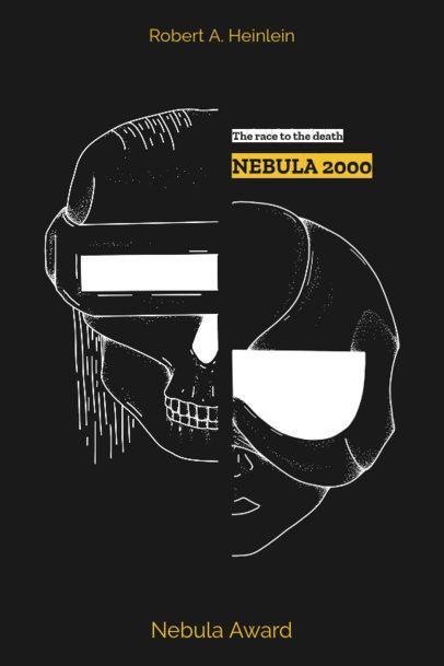 Cyberpunk Book Cover Template 523b