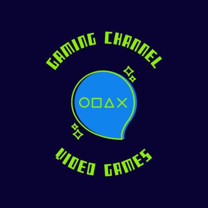 Gaming Logo Maker with Sketchy Font 1636c