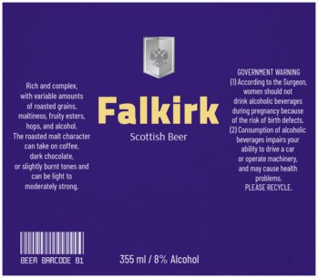 Scottish Beer Label Maker 772e