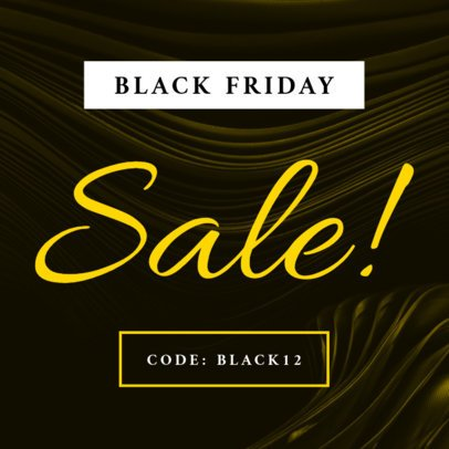 Ad Maker for Black Friday Coupon Code 747d