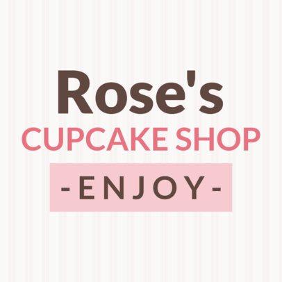 Online Banner Maker for Cupcake Bars 374c