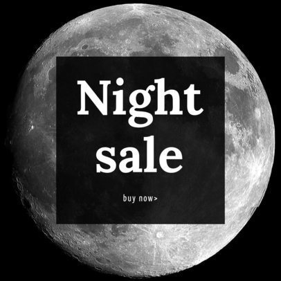Night Sale Ad Maker 752c