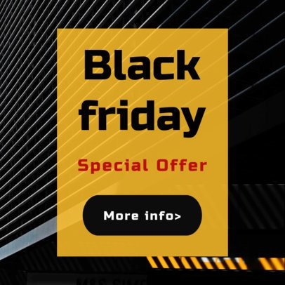 Special Black Friday Sale Offers Ad Maker 752b