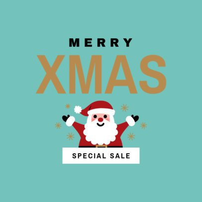 Xmas Banner Maker for Special Holiday Sales and Offers 776a