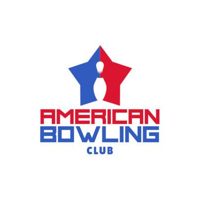 Bowling Logo Design Template with Bowling Pin Graphics 1588d
