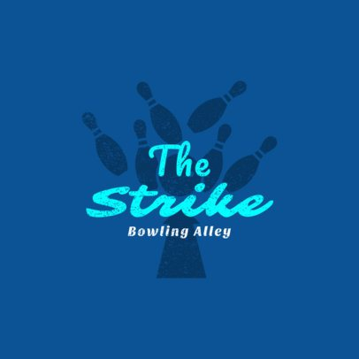 Bowling Logo Maker for Bowling Alleys 1585d