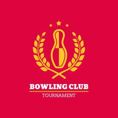 Bowling Logo Generator for a Bowling Club 1589c