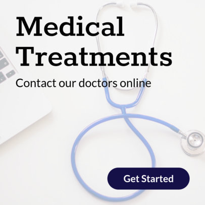 Online Banner Maker for Healthcare Companies 376d