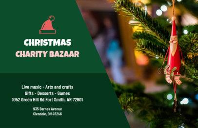 Xmas Flyer Maker for a Charity Bazaar 865b