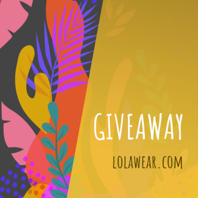 Banner Maker for Giveaways and Contests 274e