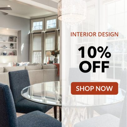 Banner Maker for an Interior Design Store 534a