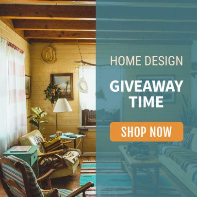Home Design Banner Maker for a Giveaway 534c
