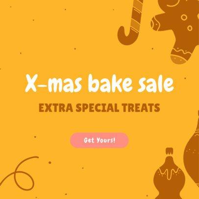 X-Mas Banner Maker for a Holiday Bake Sale 789e