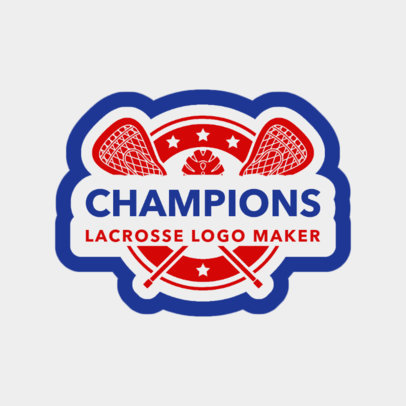 Lacrosse Logo Maker for Pro Lacrosse Teams 1592e