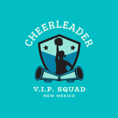 Cheerleader Logo Maker 1596b