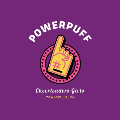 Cheerleader Logo Generator 1596d