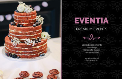 Horizontal Event Flyer Template for Premium Event Planners 715d