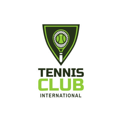 Tennis Logo Maker for a Tennis Club 1601