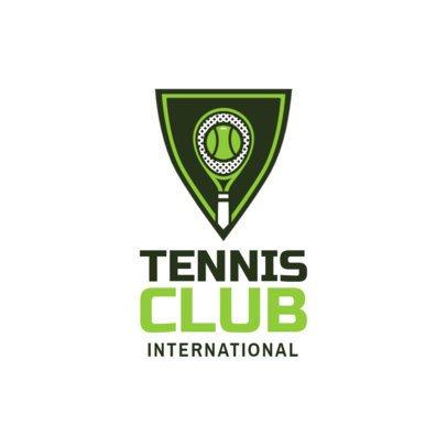 Tennis Logo Maker for a Tennis Club 1601
