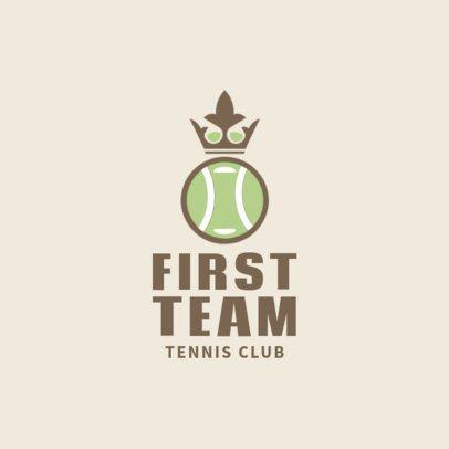 Tennis Logo Generator for a Tennis Team 1601d