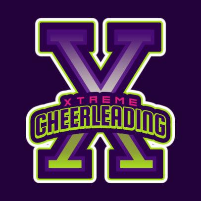 Xtreme Cheerleading Logo Creator 1597b