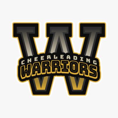 Cheerleading Logo Creator for a Cheer Team 1597d