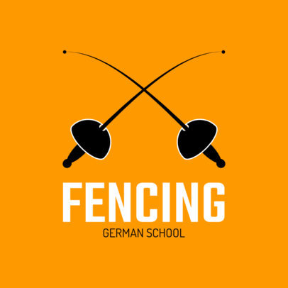 Fencing Team Logo Maker 1610e