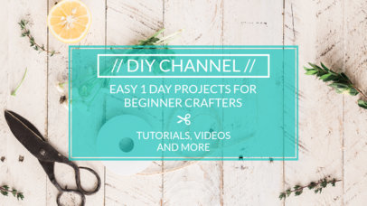 YouTube Thumbnail Generator for a DIY Channel 889
