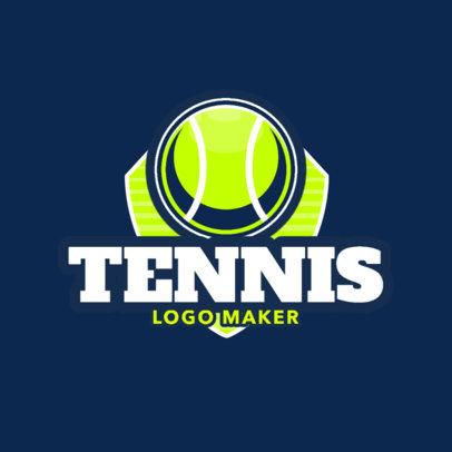 Tennis Logo Generator for a Tennis Club 1602
